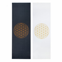 Bodhi - Design yoga mat FLOWER OF LIFE, The Leela Collection
