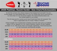 Feelmax - Osma 7 paljasjalkakengät, musta