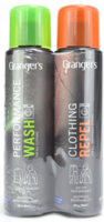 Grangers - ClothingRepel + PerformanceWash, tuplapakkaus