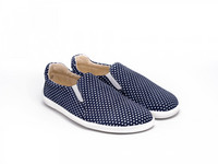 Be Lenka - Eazy, paljasjalka sneaker, Dark Blue with Dots