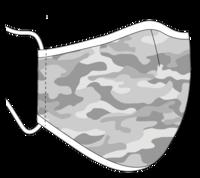 Muotoiltu kankainen kasvomaski, 4 eri väriä