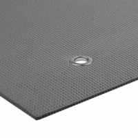 Yoga Mad - Warrior Yoga Mat with Eyelets, 4 mm