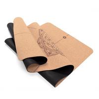 Yoga mat Cork, FLOWER OF LIFE, 4 mm