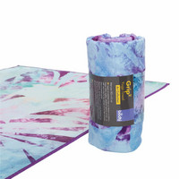 Bodhi - Yoga TOWEL GRIP² Arctic Leaves, joogapyyhe