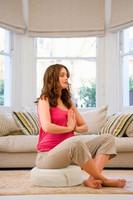 Yoga and Meditation Pillow, Merino Wool