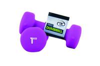 Fitness Mad - Neopreeni Käsipainot, 1,0 kg