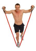 Fitness Mad - Vastuskuminauha päällisellä, Extra Strong