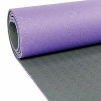 Yoga Mad - Evolution Yoga Mat, 4 mm with Carry String
