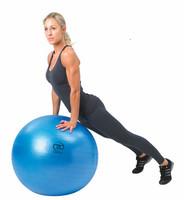Fitness Mad - Fitnesspallo, 75 cm, 300 kg, sininen