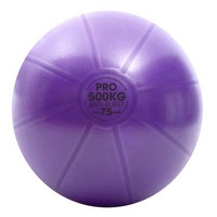 Fitness Mad - Fitnesspallo, 75 cm, 500 kg, violetti
