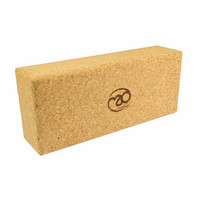 Yoga Mad - Extra High Cork Yoga Brick