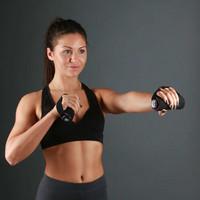 Fitness Mad - Pro käsipaino, 2 x 0,5 kg, vaaleanpunainen