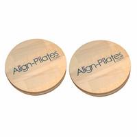 Align-Pilates - Rotaatiokiekko, 30 cm (pari)