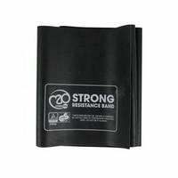 Fitness Mad - Resistance Band, Strong, 150 x 15 cm, 10 pcs & Guide