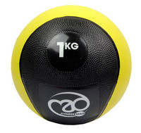 Fitness Mad - Medicine Ball, kuntopallo, 1kg