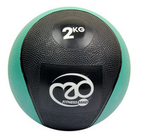 Fitness Mad - Medicine Ball, kuntopallo, 2kg