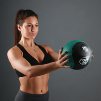 Fitness Mad - Medicine Ball, kuntopallo, 5kg