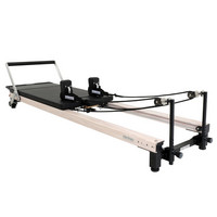 C2Pro Pilates Reformer - Wood Effect