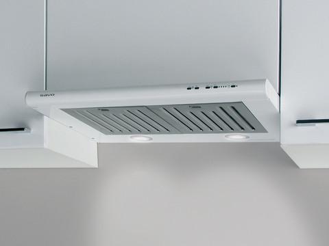 Savo F-3706-W integroitava liesituuletin 60 cm valkoinen LED 90742