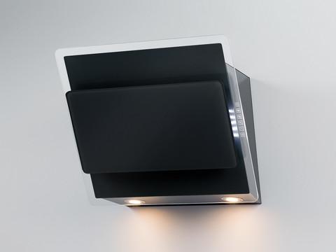 Savo CH-6906-B seinäliesituuletin 55cm huippuimurille musta LED - 86541