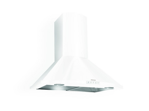 Savo CHV-8406-W seinäliesituuletin valkoinen säätöventtiilillä, LED - 96104
