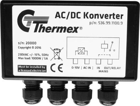Thermex AC/DC muunnin