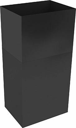 Thermex Jatkosuojaputki Harwich II ripustettava musta 1 x 1950mm