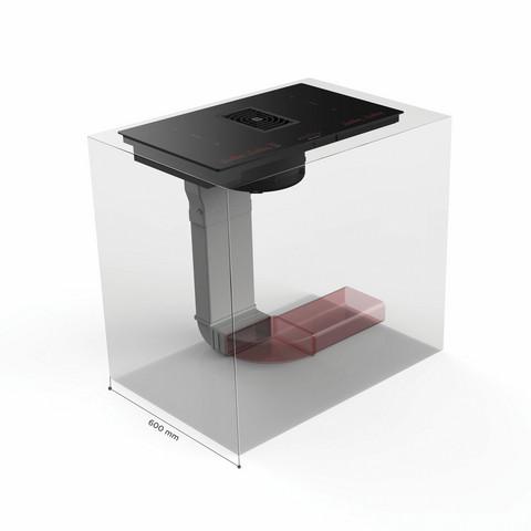 Eico Kokonainen kanavajärjestelmä Galileo Smart-liesituulettimelle by Eico