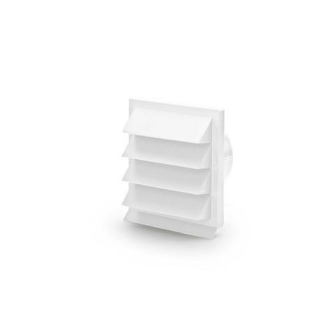 Eico Julkisivun säleikkö Ø125 valkoinen by Eico