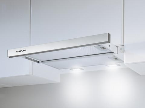 Savo PH-2605-S liesituuletin huippuimurille, integroitava 50cm RST LED 90616