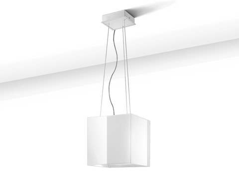 Savo KUUTIO liesituuletin kiiltävä valkoinen 86590 LED