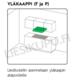 Savo G-6206-S integroitava liesituuletin 60 cm RST LED 90640