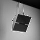 Thermex Preston II liesituuletin 60cm huippuimurille. Musta lasi/RST
