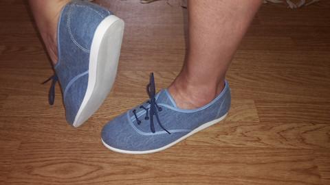 Bleyer 7321 - 244 Dance sneaker, farkku