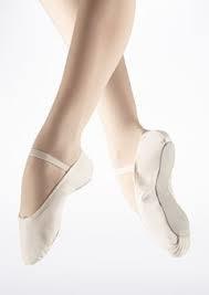 BAE 24 M valkoinen balettitossu