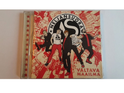 CD: Neljä Suora - Valtava maailma