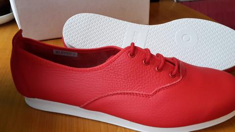 Bleyer 7530 Casual punainen (8), valkoinen ulkopohja