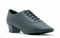 Denise Low Heel Perforated Leather