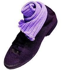 Purpura glitteritossu kumi pohjalla (UK 3)