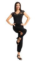 Tango housut  musta
