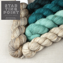Starting Point MKAL Brown and Teal kit in Luonnotar