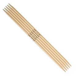 Addi Bambu Double Pointed Needles 15 cm