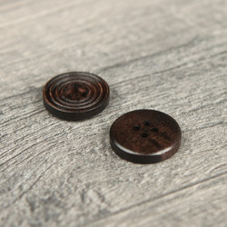 Wooden Button #3