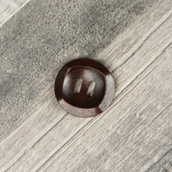 Wooden Button #6