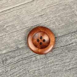 Wooden Button #7