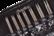Chiaogoo Twist -vaihtopääsetti (2.75-5 mm)