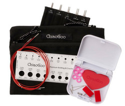 Chiaogoo Twist Interchangeable Needle Set (sizes US#000 to #1½)