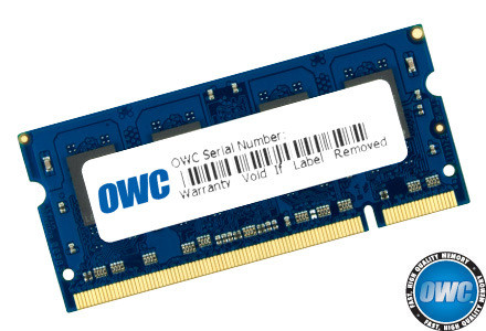 OWC Memory 4GB KIT (2 x 2GB) SO-DIMM PC3-8500 1066MHz