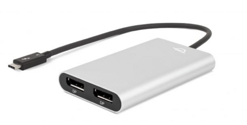 Thunderbolt 3 Dual DisplayPort Adapter