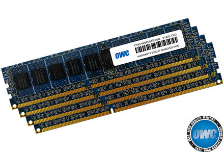 OWC 64GB KIT (4 X 16GB) PC3-14900 DDR3 ECC Reg. 1866 MHz